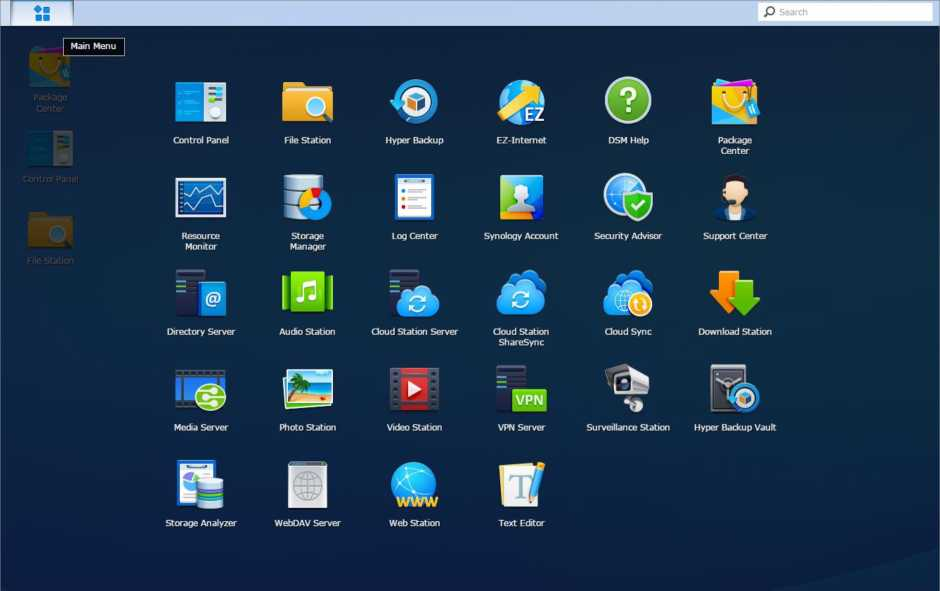 Primeros pasos con Synology DiskStation Manager